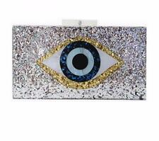 Evil Eye Acrylic Clutch Handbag