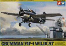Tamiya 1:48 Grumman F4F-4 Wildcat Plastic Aircraft Model Kit #61034