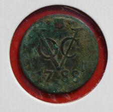 Países Bajos: VOC 1 Duit 1788, provincia de Utrecht, # f 2335