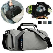 Sport Duffle Bag Gym Travel Handbag Training Yoga Men Women W/ Shoe Compartment❤