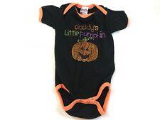 Unisex Halloween One Piece Sz 6-12 mos Daddy's Little Pumpkin