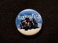 HAMMERFALL BUTTON BADGE PIN NOT PATCH SHIRT POSTER CD LP CELTIC FROST UK IMPORT