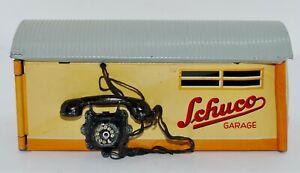 1950's Tin Litho Schuco No. 1500 Garage