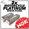 2x NGK Spark Plugs for MOTO GUZZI 1150cc Stelvio 1200 4V 08-> No.6378