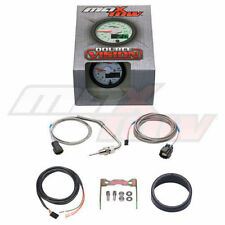 MaxTow 52mm White DOUBLE VISION LED EXHAUST TEMP EGT PYROMETER GAUGE MT-WDV08