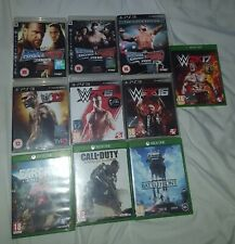 WWE, Call of Duty, Farcry & Battlefront 1 Xbox One And Ps3 Video Games Lot
