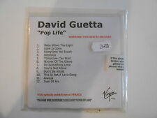DAVID GUETTA : POP LIFE [ NEW & LIMITED ! FRENCH CD ALBUM PROMO ] - PORT GRATUIT