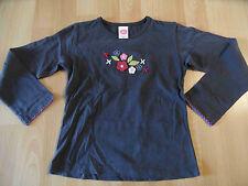 CAKEWALK wunderschönes Shirt grau Blumenmotiv Gr. 116 ST116