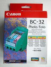Canon Druckkopf BC-32 Photo mit Fototinte schwarz, blau und rot für BJC 6000