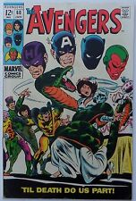 Avengers #60 (Jan 1969, Marvel), FN condition, Wasp and Yellowjacket wed