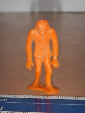 VINTAGE, ORIGINAL MPC MONSTER FRANKENSTEIN FIGURE, ORANGE, 2.5""