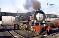 PHOTO  SOUTH AFRICAN RAILWAYS -  15C AT WITBANK 9/72 A 15C 4-8-2 AT WITBANK IN W