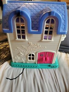 Little People Home Sweet Home Doll House Fold Out  Fisher Price Vintage 1996