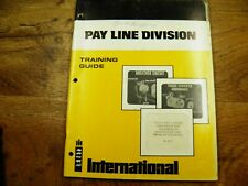 Ih 510 515 Pay loader Convertor And Transmission Training Guide