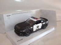 """2015 Ford Mustang GT Police Car Die Cast Metal Model 5"""" Kinsmart Collectable New"""