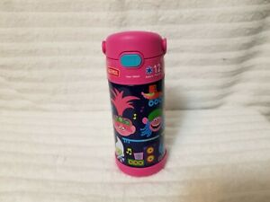 NEW THERMOS 12 oz. KIDS FUNTAINER VACUUM INSULATED STAINLESS STEEL NWOT