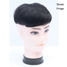 100% Human Hair Topper Piece Toupee for Men Clip in Handmade Hairpiece Extension