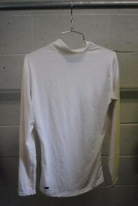 Adidas ClimaLite Long Sleeve Mens Medium Cycling Base Layer Shirt White Used