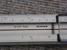Rechenschieber  Albert Nestler  No. 24 R  Rietz  (58 cm lang)