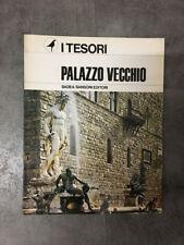 LIBRO PALAZZO VECCHIO I TESORI SADEA SANSONI