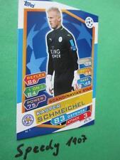 Topps Champions League 2016 17 Scandinavian Star Schmeichel N1 Leicester 2017