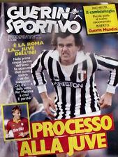 Guerin Sportivo 7 1986 Michel Platini - Inserto Guerin Mundial + Cambiamaglia