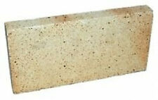 "1"" inch Clay Fire bricks cooker pizza oven firebricks BBQ heat set of 6"