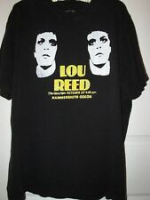 Pre-owned Vintage Lou Reed T-Shirt (From 1979 London, gig) Design