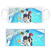 Free! Haruka Makoto Nagisa Rei Rin Sousuke Tazza Ceramica Mug Cup Anime Manga