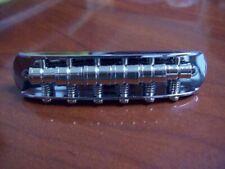 NEW Genuine Fender Bridge Assembly For Mustang, CHROME, 003-5555-000