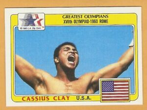 1983 Topps Greatest Olympians Singles 1-99 Cassius Clay Jerry West B5