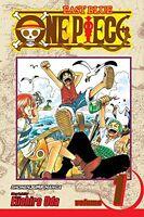 One Piece, Vol. 1: Romance Dawn New Paperback Book Eiichiro Oda