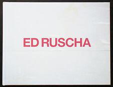 Ed RUSCHA. Paintings. London, Gagosian Gallery, 2008. E.O.