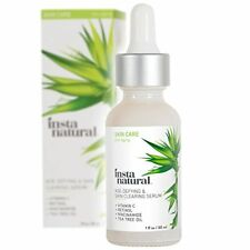 InstaNatural Age Defying Vitamin C Formula Skin Clearing Serum - with Retinol