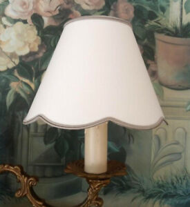 Lampshade with clip diameter 15cm