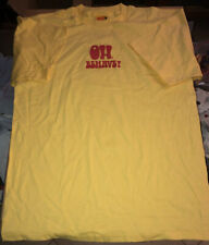 Vintage Austin Powers Oh, Behave! Yellow T-Shirt Adult Xl 1999 Nos Never Worn