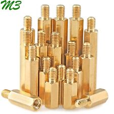 M3 Brass Male Female Hex Column Standoff Support Spacer Screw Nut for PCB Board