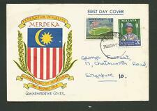 1953 Malaya Official Fdc