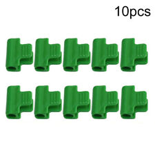 10Pcs Plastic Greenhouse Film Clips Fixing Clamp Greenhouse Shade Net Clips Tool