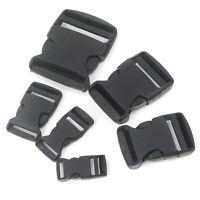 10Pcs Plastic Webbing Straps Clasp Side Quick Release Buckle Bracelet Clips
