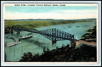 CANADA Postcard - Quebec Bridge, Canadian National Railways (G3)