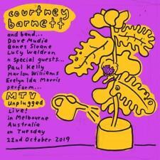 Courtney Barnett - MTV Unplugged  Coloured LP Vinyl New & Sealed