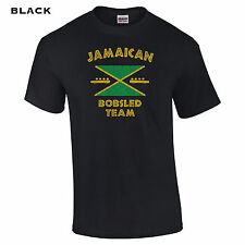 394 Jamaican Bobsled Mens T-Shirt olympics funny movie winter race college cool