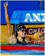 Natalie Coughlin Signed Autographed Team U.S.A. Olympic Swimming 8x10 Pic. A