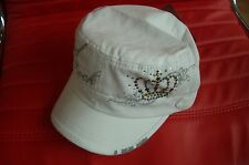 HRC hard rock cafe Mykonos white rock Couture Crown ha base cap NWT XL fotos