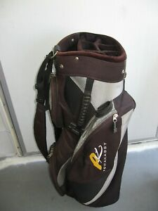 POWAKADDY CART GOLF BAG with 7 Way Divider Top + 1 Tube & Dual IZZO Carry Straps