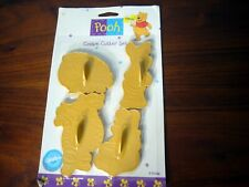 Wilton Winnie the Pooh and friends Cookie Cutter Set 4 New Piglet Eeyore Tigger