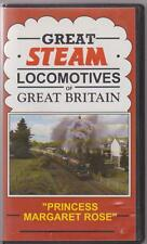 Great Steam Locomotives Of Great Britain Princess Margaret Rose ~ Railway Video