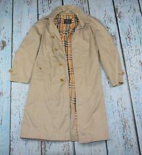 Burberrys London Classic Long Trench Coat Size 50 /M