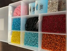 Beads Seed Beads Kit with bead box and findings enclosed